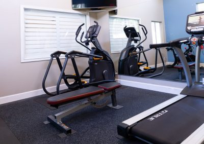 Aggie Square Apartments Fitness Center Equipment