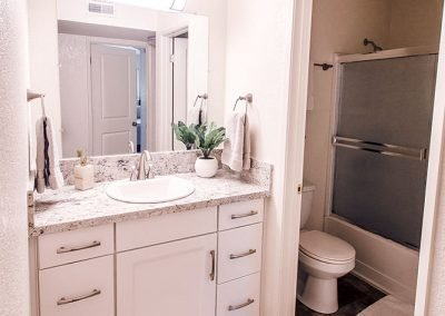 Aggie Square Deluxe Apartment Rental Bathroom