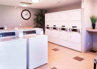 Aggie Square Apartments Laundry Room