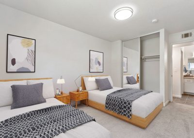 Aggie Square Apartments Bedroom - Standard