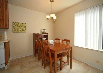 Almondwood Apartments Dining Area