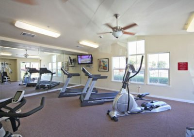 Almondwood Apartments Fitness Room