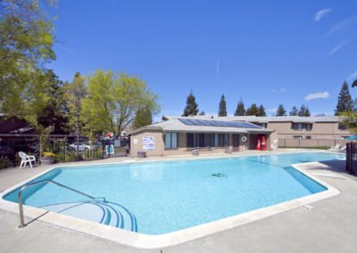 Almondwood Apartments Pool Area