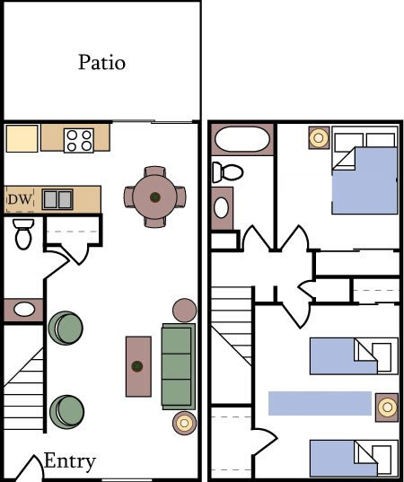 Apartment Floor Plans And Pricing
