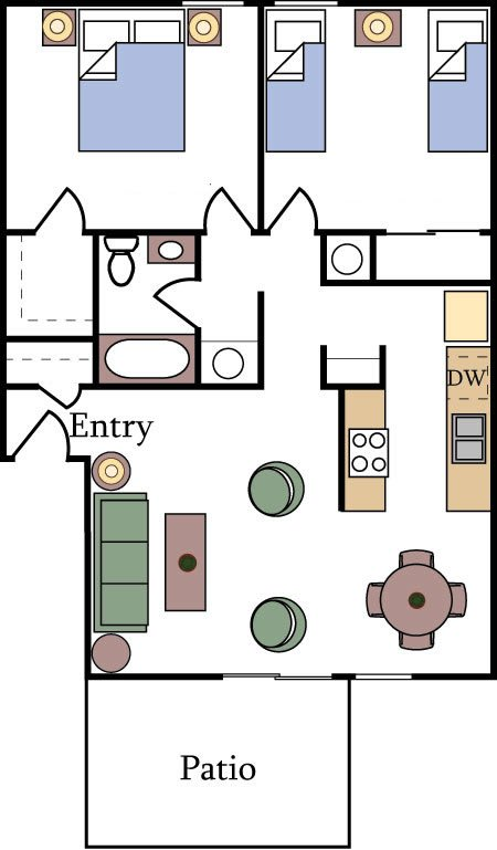 Floor Plans and Pricing - Almondwood Apartments