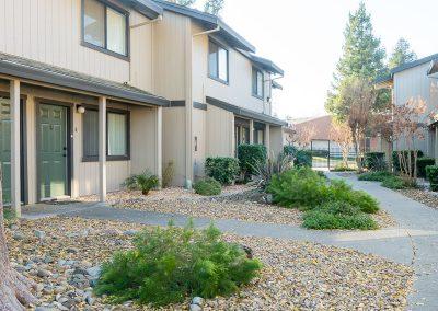 Almondwood Apartment rental in Davis building front