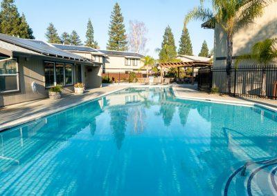 Almondwood Apartments in Davis Pool and Spa Area