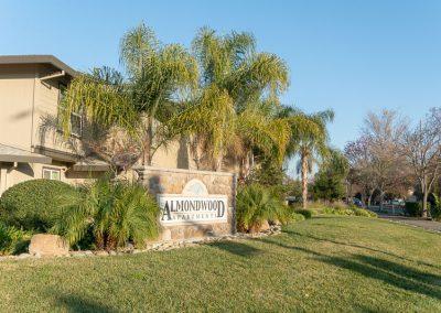 Almondwood Apartments Davis Ca Street Sign