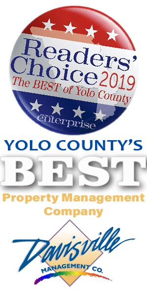 Best Property Management Company in Yolo County Award