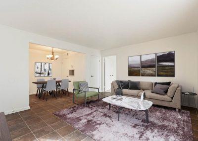 Almondwood Apartments 1 Br Living Room