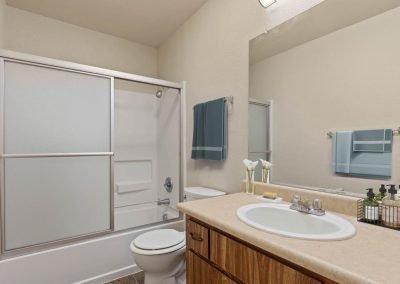 Almondwood Apartments 2 Br Townhome Bathroom