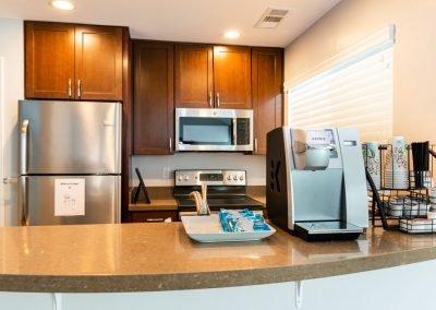 Almondwood Apartments Community Room Kitchen
