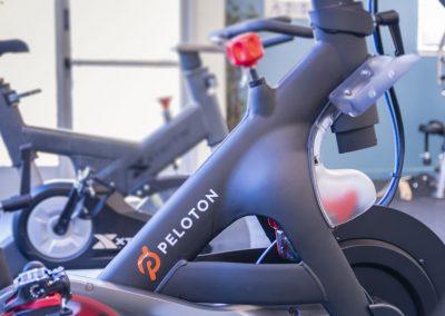 Peloton bicycle at Almondwood Apartments
