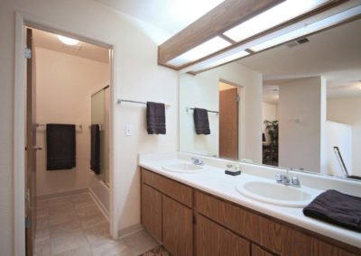 Fountain Circle Townhomes bathroom vanity