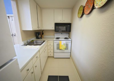 Fountain Circle Townhomes community center kitchen