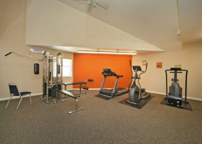 Fountain Circle Townhomes in Davis fitness room