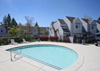 Fountain Circle Townhomes pool area