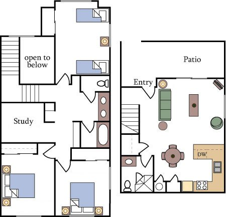 Floor Plans and Pricing - Fountain Circle Townhomes