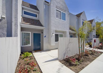 Fountain Circle Townhomes in Davis building exterior