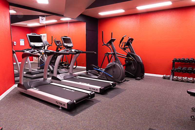 Fountain Circle Townhomes workout room