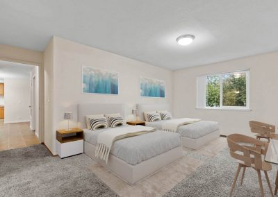 Fountain Circle Townhomes Bedroom - 2BR Apartment