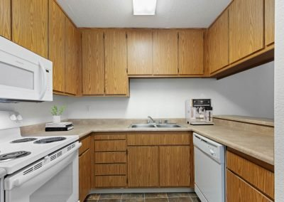 Fountain Circle Townhomes Kitchen - 3BR (Style A)