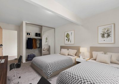 Fountain Circle Townhomes Upstairs Bedroom - 3BR (Style A)