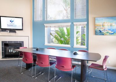 Fountain Circle Community Room Study Area