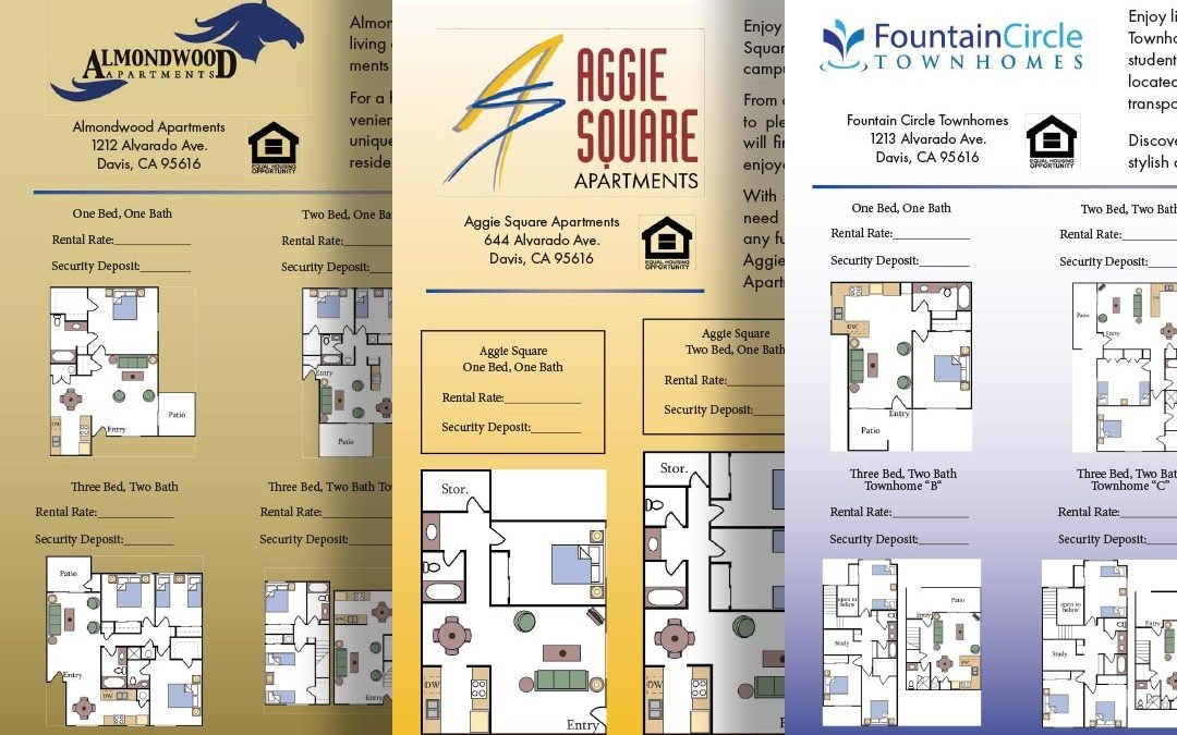 Brochure And Rental Information For Great Apartments For Rent In