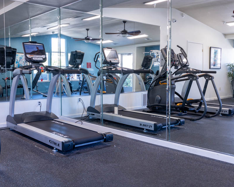 Almondwood Apartments fitness center