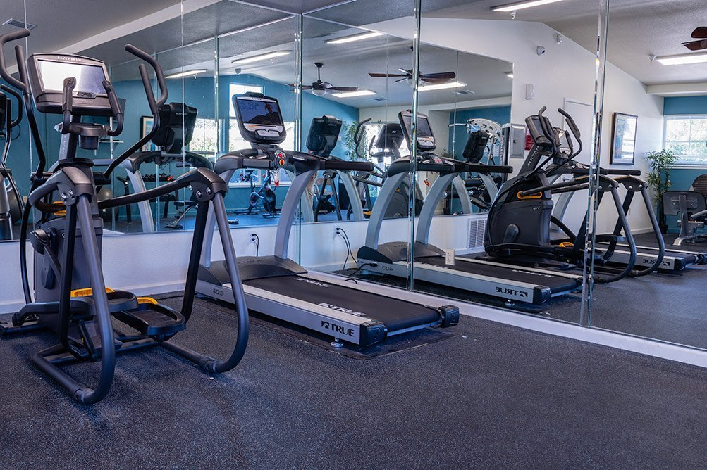 Fitness Center at Almondwood Apartments
