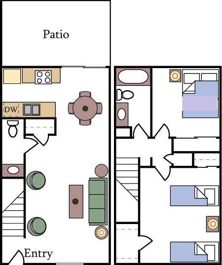 2-Bedroom Apartments For Rent In Davis, CA