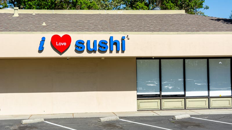 Photograph of I Love Sushi Restaurant