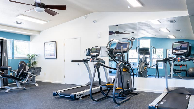 Photograph of Almondwood Apartments Fitness Center