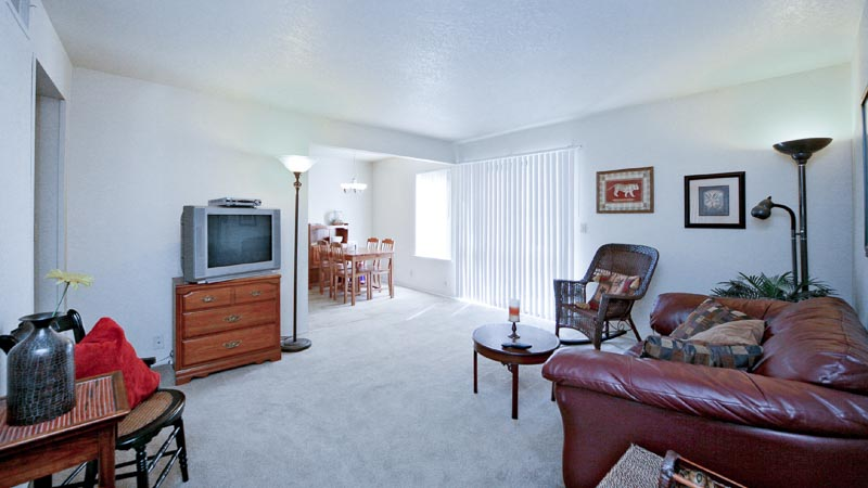 Photograph of Almondwood Apartments Davis Ca Living Room