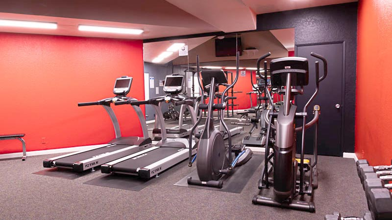 View of Fountain Circle Townhomes Fitness Center