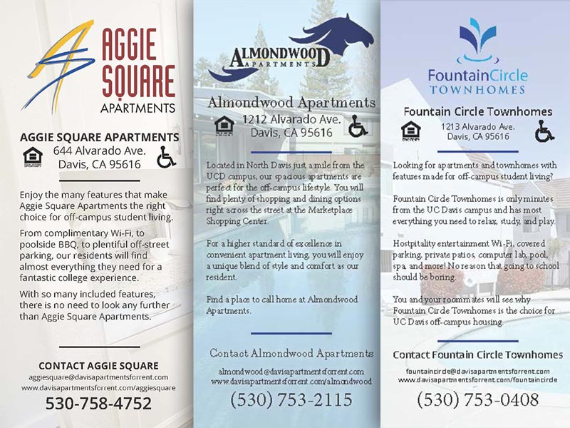 Brochure and Apartment Rental Information